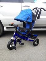Велосипед My Mummy 6288N синий, надувные колеса