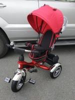 Велосипед My Mummy 6688-3 надувные колеса, красный