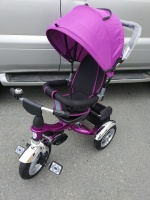 Велосипед My Mummy 6688-3 надувные колеса, фиолетовый