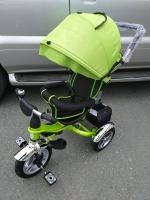 Велосипед My Mummy 6688-3 надувные колеса, зеленый