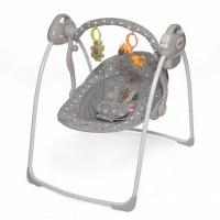 Электрокачели Baby Care Riva с адаптером (серый (grey))