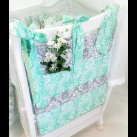 Карман на кроватку Margarita 04-214 из набивной х/б ткани, 58 х 58 см.