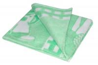 Одеяло байковое арт.57-4ЕТО Ж (118*100) Ермолино