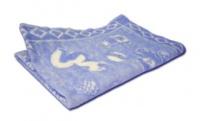 Одеяло байковое арт.57-1ЕТ Ж (118*100) Ермолино