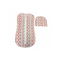 Пеленка-кокон Семицветики 1008 Ф 56-62 на замке кокон+ шапочка (футер)
