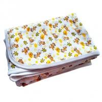 Пеленка Семицветики 1002 И трикотажная окантованная 120*90 см