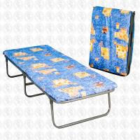 Раскладная кровать 190*70 ЯЗКМ КТР-3М МУРОМЕЦ, до 130кг, матрас 50 мм
