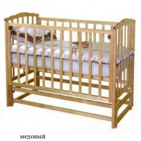 Кровать Можга С-619 Кристина медовая