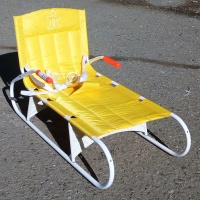 Санки Дэми СДС-01 (желтые) складные