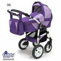 Коляска SERENADE PCO-F (3-в-1) - TEDDY (06 фиолетовый)