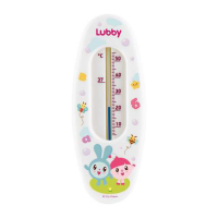 "Термометр в ванную Lubby 20904 ""Малышарики"", от 0 мес., пластик, керосин"