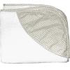 Полотенце-уголок Топотушки М5-8 махра 100*80 см. (сер.горох)
