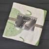 Одеяло байковое Ермолино 57-8ЕТЖ ПРЕМИУМ (140*100) (омела мишка)