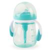 Бутылочка Happy Baby 10019 с ручками и антиколиковой силиконовой соской 180 мл.
