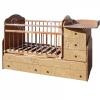 Кровать Сафаня №3 трансформер, маятник, резьба, бук