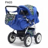 Коляска VICTORIA PKL - TEDDY (PA03 синий)