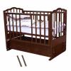 Кровать Можга С-676 Ангелина, маятник прод, ящ, вишня